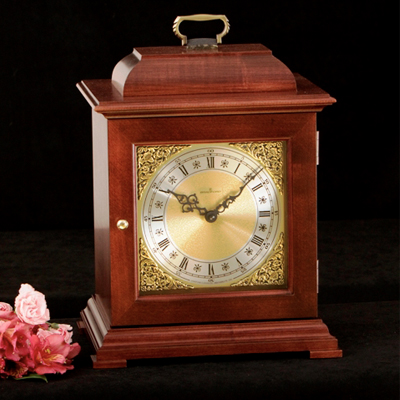 Wood Box With Clock Face